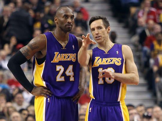 2013-02-13 Steve Nash Kobe Bryant