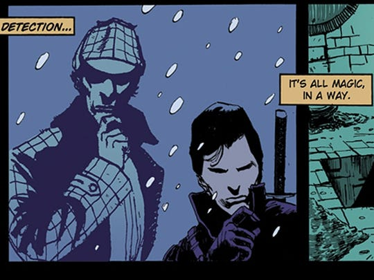 Five Ghosts page