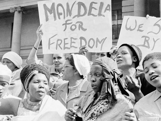 mandela women protest 1962