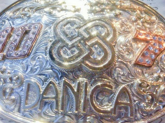 4-12-2013 danica belt buckle