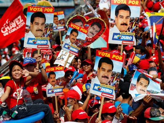 maduro supporters