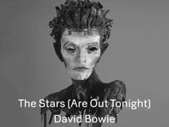 David Bowie, The Stars single sleeve