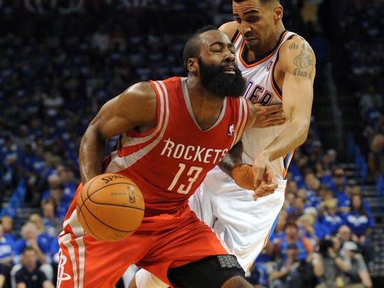 2013-04-21 James Harden Rockets 1