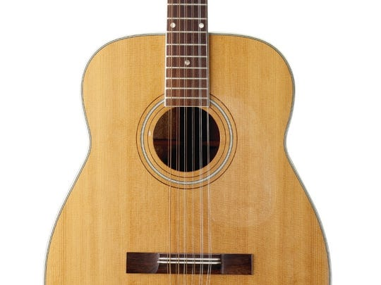 Keith Richards' acoustic guitar