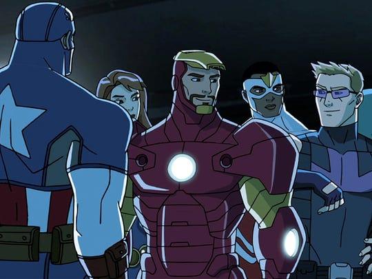 Avengers meet