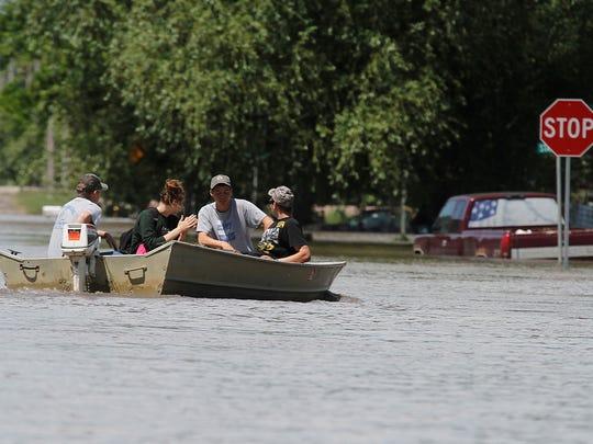 Chelsea, Iowa, flood