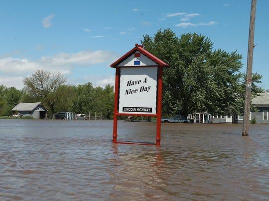 Chelsea, Iowa, flooding