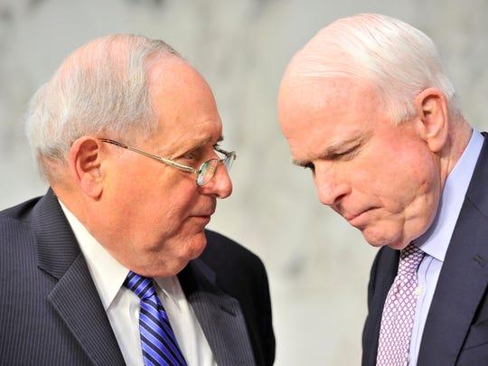 Carl Levin and John McCain