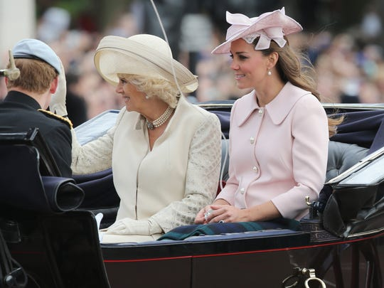 Duchess Kate and Duchess Camilla