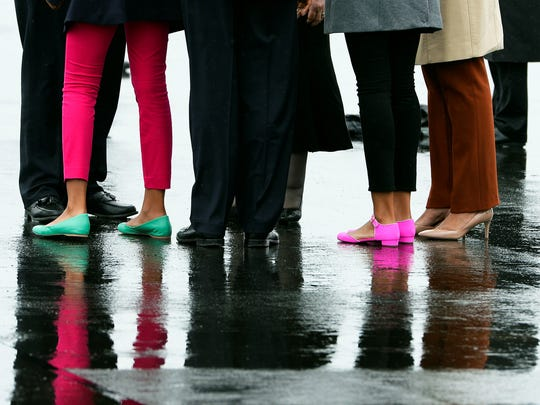 Obama daughters' shoes