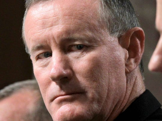 U.S. Navy Vice Adm. William McRaven