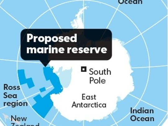 Proposed Ross Sea marine protected area