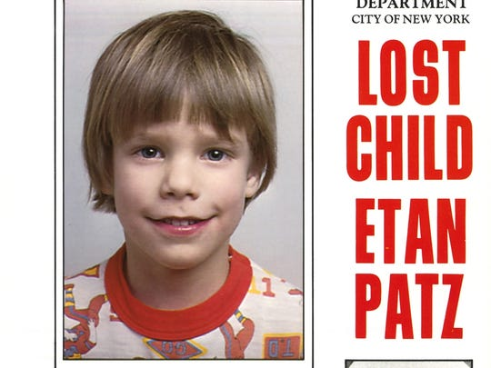 Etan Patz missing