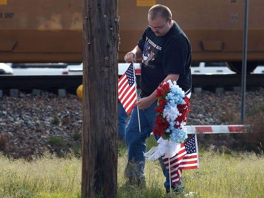Texas train crash veterans