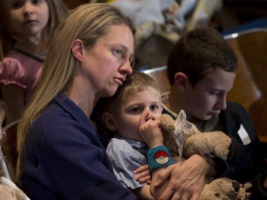Hundreds attend funerals for 2 Newtown children