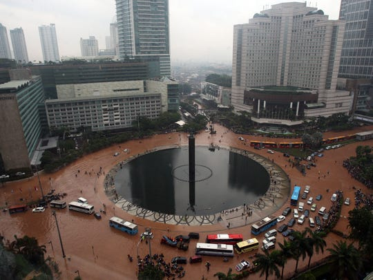 indonesian flood