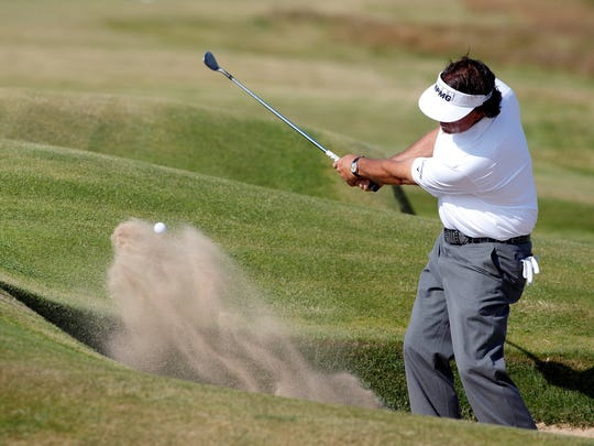 2013-7-16 mickelson from a bunker
