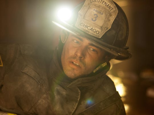 Who is severide dating on chicago fire