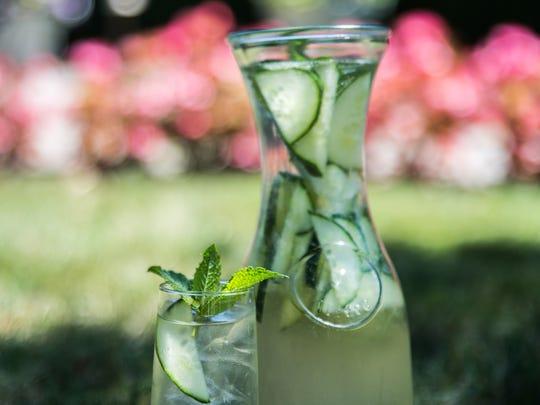 Cucumber White Sangria