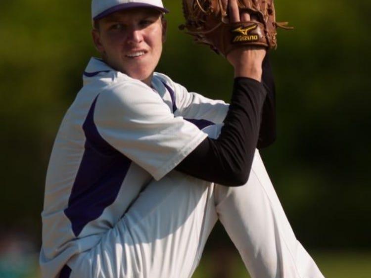 Old Bridge's Zach Attianese pitches in a game last season