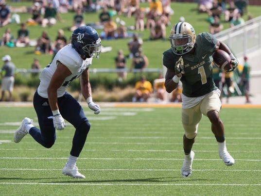 NCAA Football: Rice at Baylor