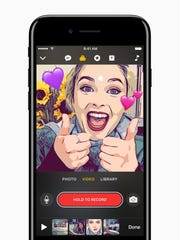 Apple's new Clips app hopes to take on Snapchat and