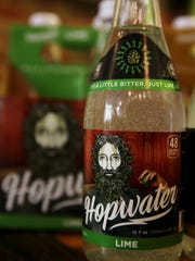Hopwater, a new line of hop-flavored sodas comes in