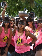 RTO Team Las Mamacitas take a selfie at 12th Annual Reno-Tahoe Odyssey at Wingfield Park in 2016.
