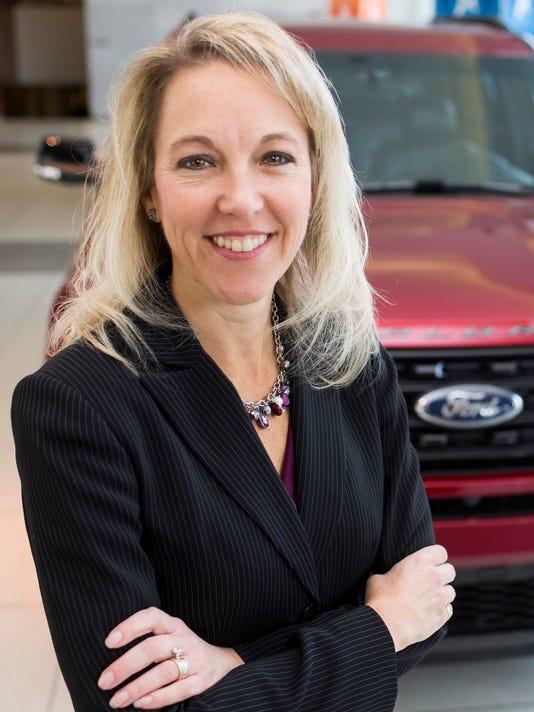 Chantel Lenard, Ford group marketing manager