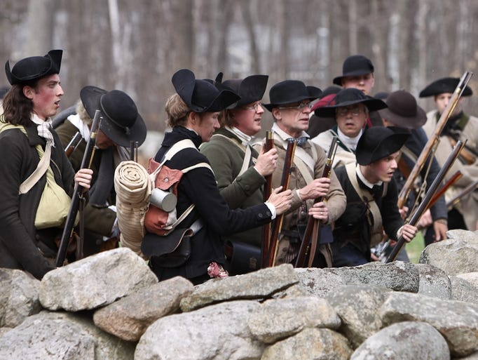 To comprehend the American Revolution, visitors must see Lexington and Concord, Mass., where it started. On Patriots' Day in April, reenactors show how the battle unfolded.