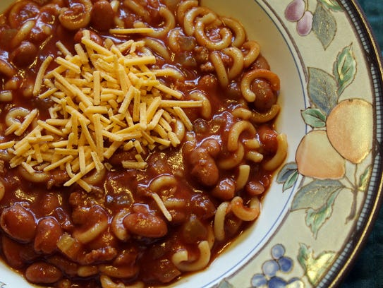 Are macaroni and beans must-have chili ingredients?