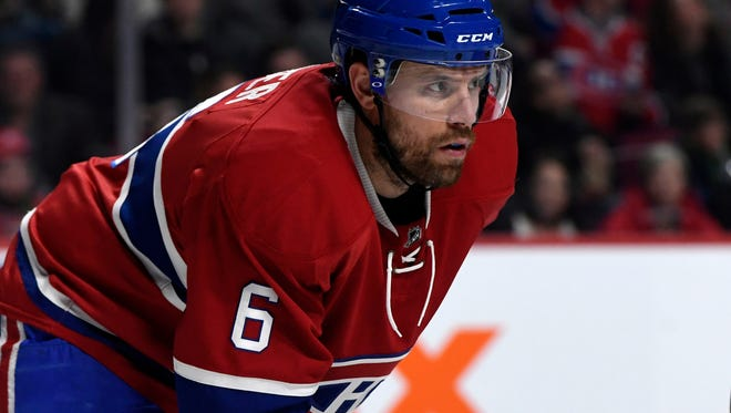 Shea Weber played in his 800th NHL game Saturday.
