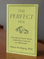 """Helen Rothberg's book, """"The Perfect Mix"""" at the Marist"""