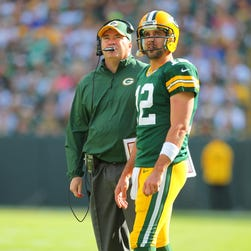 Packers coach Mike McCarthy found a way to trick Aaron Rodgers.