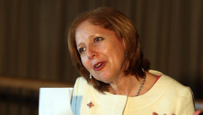 The  U.S. ambassador to Brazil, Liliana Ayalde.