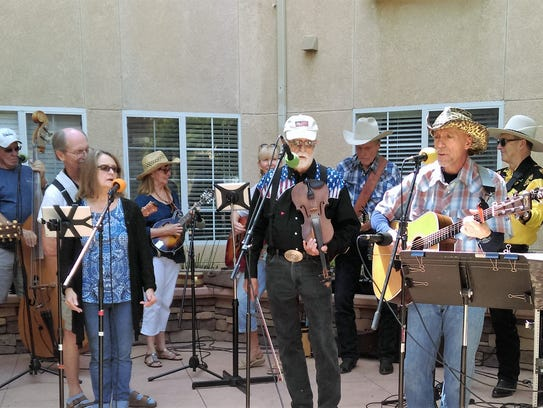 Old Country Grass Band will play Feb. 3 at Poinsettia