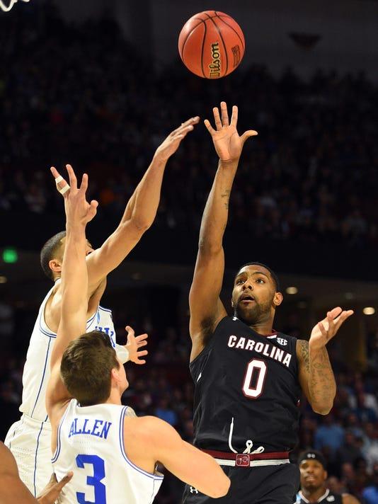 USP NCAA BASKETBALL: NCAA TOURNAMENT-SECOND ROUND- S BKC USA SC