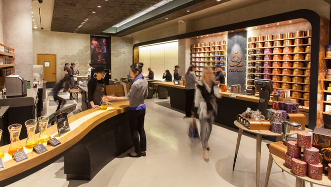 The new Teavana Fine Teas + Tea Bar.