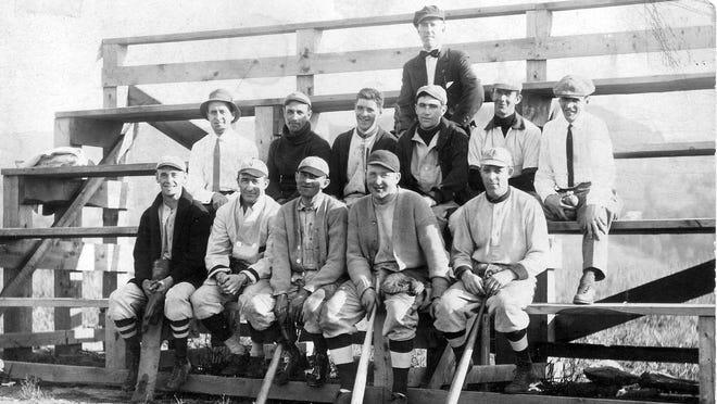 Members of the Richmond Town Baseball Team circa 1927. See more team photos inside.