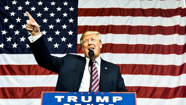 On Thursday, Donald Trump the Republican Candidate