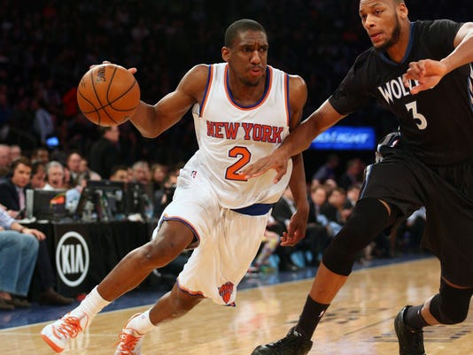 NBA: Minnesota Timberwolves at New York Knicks
