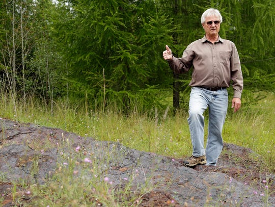 Jeff Lynott, director of exploration and geology for