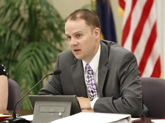 Kevin Brown, shown here on July 23, 2013, is the interim education commissioner for Kentucky.