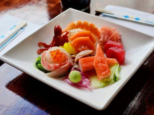 Best Sushi: Jasmine Cafe & Lounge.