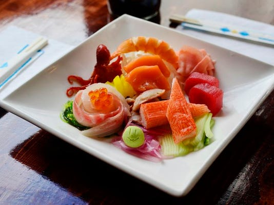 Best Sushi: Jasmine Cafe & Lounge.