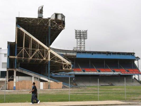Tiger Stadium Site Baseball