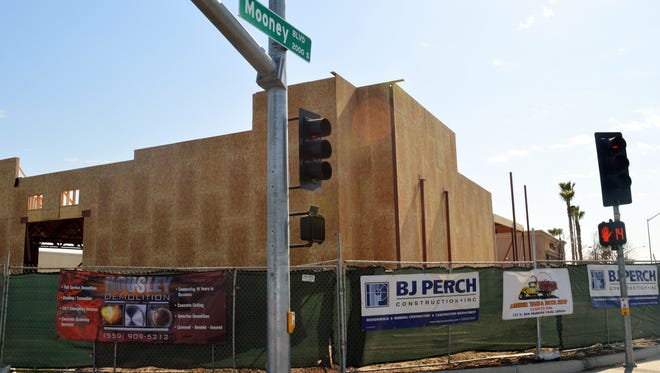Monterey developer, The Orosco Group, is working on a project on the corner of Mooney Boulevard and Walnut Avenue in Visalia where the former Weatherby's building used to stand.