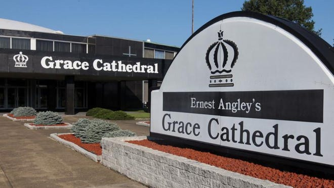 Ernest Angley's Grace Cathedral in Cuyahoga Falls is among employers receiving $350,000 to $1 million in taxpayer-funded coronavirus loans through the new federal Paycheck Protection Program.