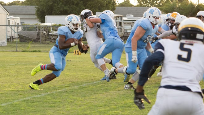 Rockledge High's Jalen Mitchell was voted this week's high school Athlete of the Week.