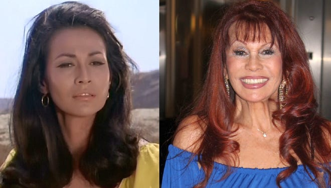 Luna in 'high Chaparral in 1967 and at Cinecon in 2014